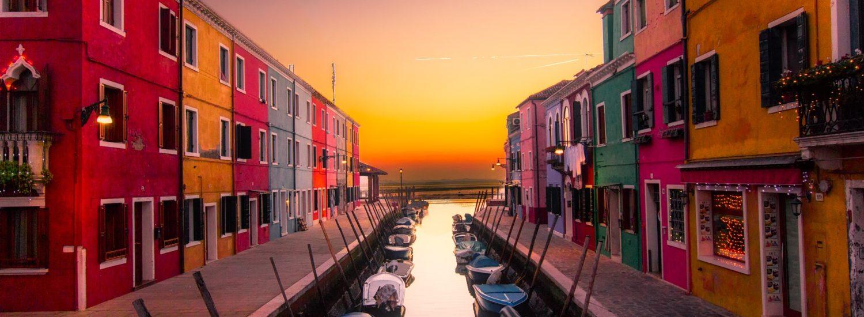 Una vista di Venezia, facilmente raggiungibile coi mezzi pubblici dal nostro Hotel!