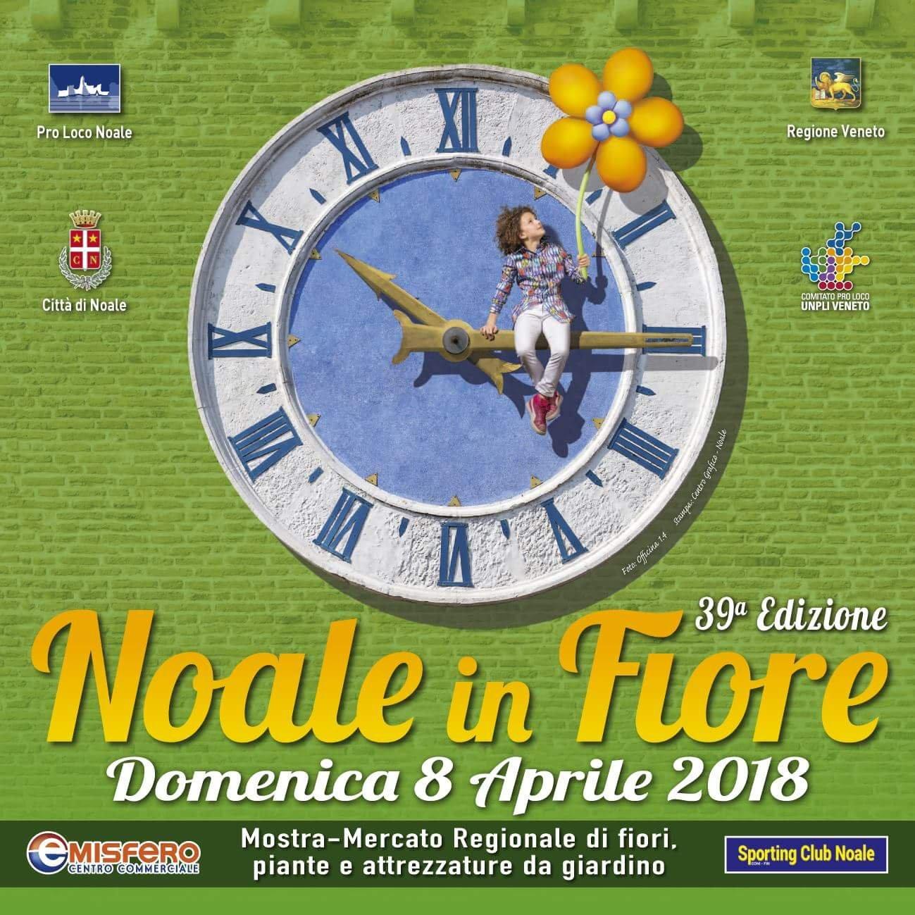 Festa dei fiori Noale 2018, una delle più grandi del Veneto